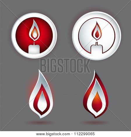 Candle Concept Design With Various Shapes