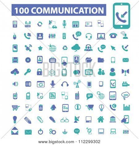 Communication icons,  connect,  talking,  business communication,  communication concept, communication, connection, technology, mobile  icons, signs vector concept set