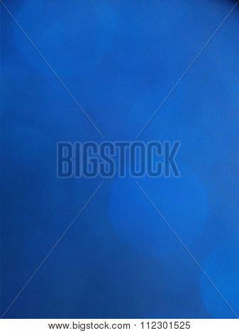 Royal Blue Background with Fainted Bokeh Spots
