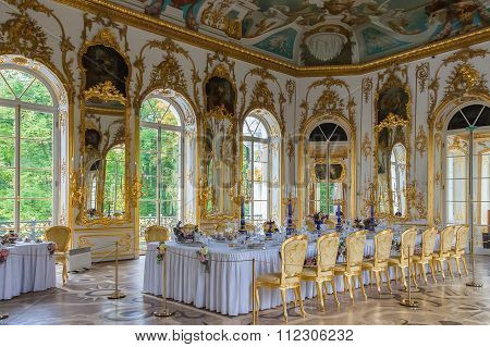 Interior Of Hermitage Pavilion In The Catherine Park Of Tsarskoye Selo, Saint Petersburg