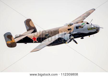 Bomber At Airshow