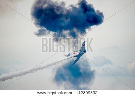 Japanese Zero War Plane At Airshow