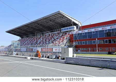 Moscow Raceway Race Track