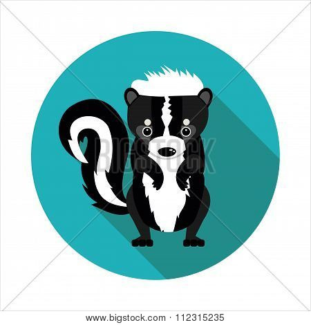 Flat  Icons Skunk
