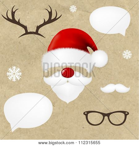 Hipsters Christmas Set
