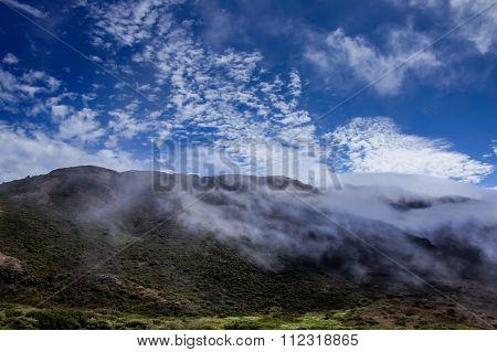 California Landscape. Marin Headlands, Golden Gate National Recreation Area