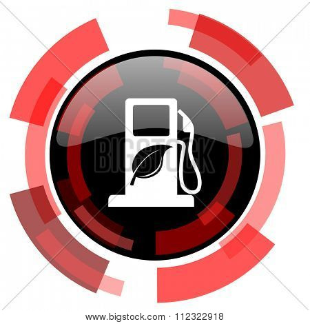biofuel red modern web icon