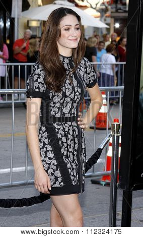 Emmy Rossum at the Los Angeles Premiere of