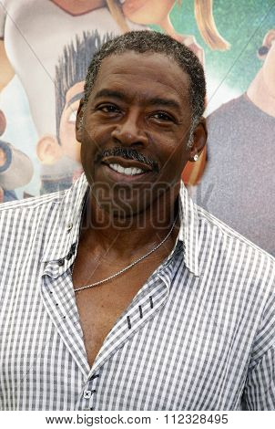 LOS ANGELES, CALIFORNIA - August 5, 2012. Ernie Hudson at the Los Angeles premiere of