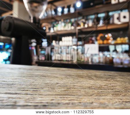 Table Top Counter Bar Restaurant Kitchen Background