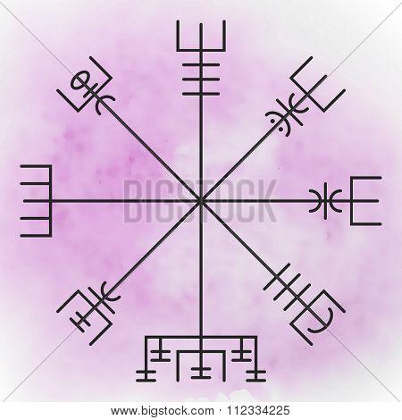 Vegvisir - the Magic Navigation Compass
