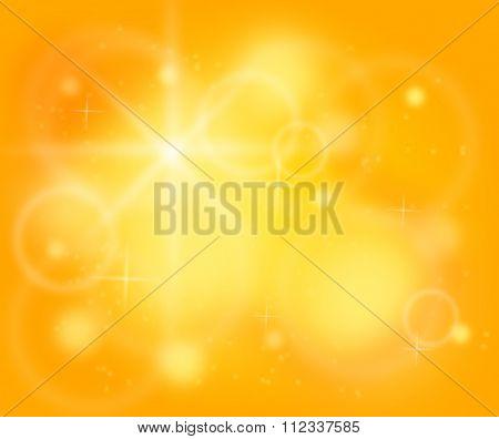 Chakra Yellow Color