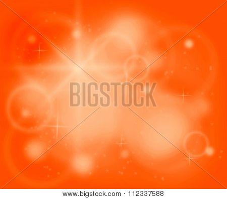 Chakra Orange Color