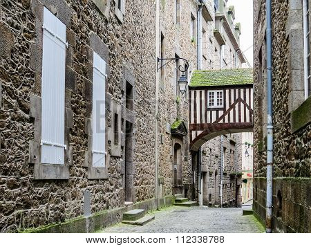 Intramuros, Saint-Malo, France