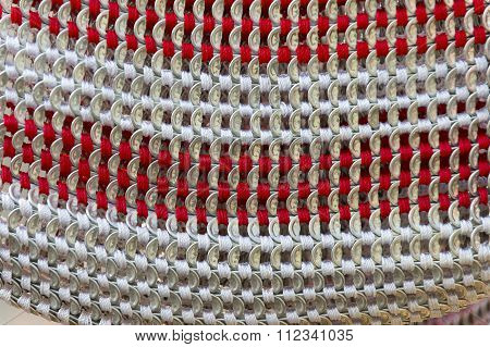 Abstract Wattled Decoration