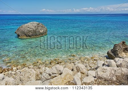 Amazing Landscape of the Agios Nikitas Beach