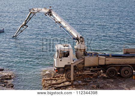 Concrete Pumping Line
