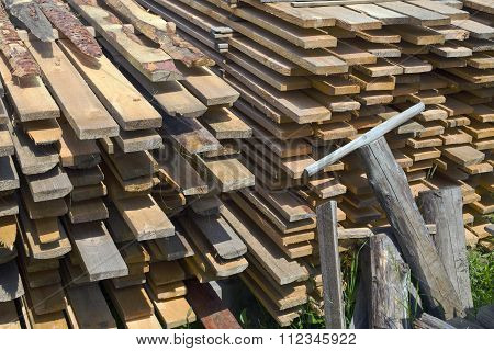 Stack Of Boards