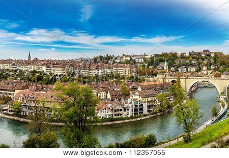 Panoramic View Of Bern