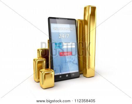 Mobile Banking Tracking Exchange Rates