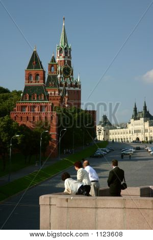Moscow, Kremlin,  Quay Of Moskow-Vrier.
