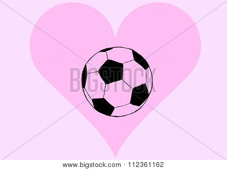 Ball in a heart