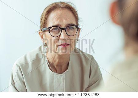 Portrait Of Psychotherapist
