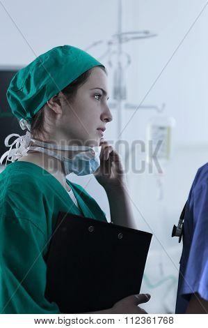 Surgeon Sad After Unsuccessful Operation