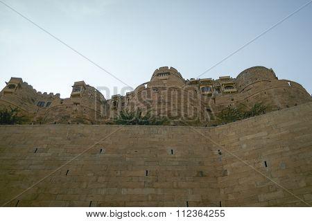 Jaisalmer, India-november 26, 2016:different Parts Of Golden Fort Of Jaisalmer, Rajasthan India.