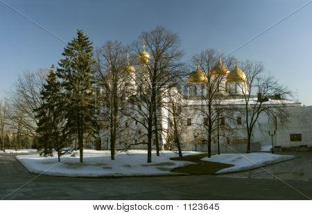 Moscow, Kremlin, Troitskiy Cathedral. Ìîñêâà, Êðåìëü