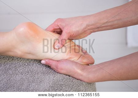 Reflexology Foot Massage, Spa Foot Treatment,
