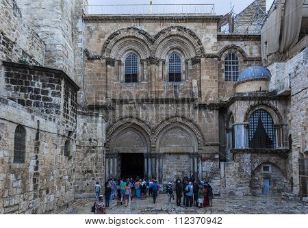 Church Of The Holy Sepulchre. Jerusalem. Jerusalem, Israel