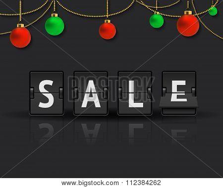 Sale analog flip clock