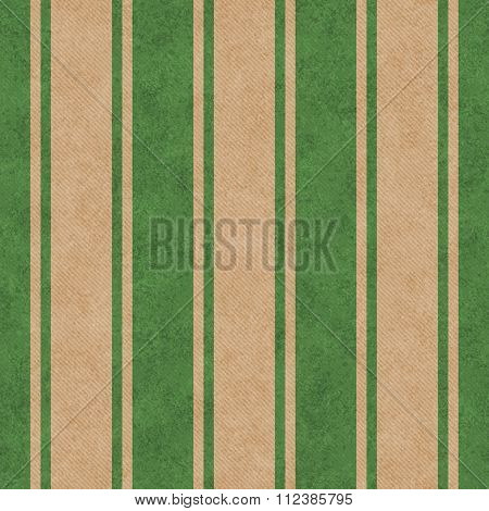 Green And Beige Striped Tile Pattern Repeat Background
