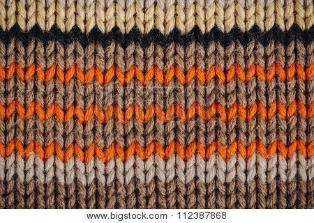 Knitted Wool Jumper Texture