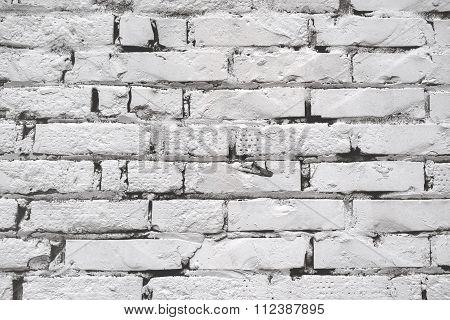 White Brickwork Pattern