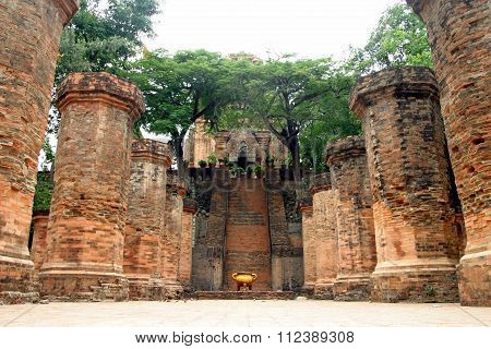 Po Nagar ruins in Nha Trang Vietnam