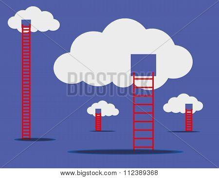 Internet Cloud Concept
