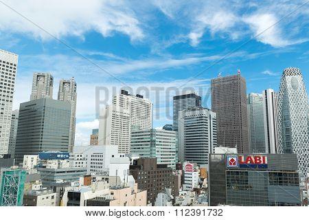 Skyscapers At Shinjuku, Japan
