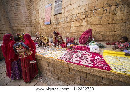 Jaisalmer Street Vendor.