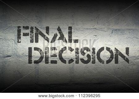 Final Decision Gr