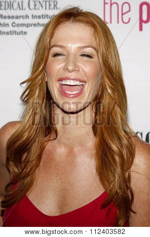 Poppy Montgomery at the 5th Annual Pink Party held at the La Cachette Bistro in Santa Monica, California, United States on September 12, 2009.
