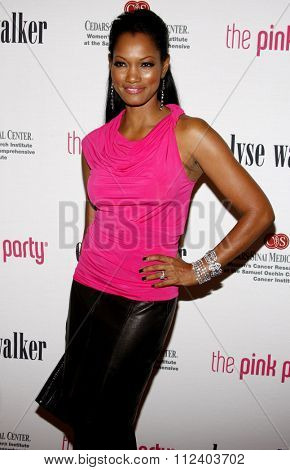 12/09/2009 - Santa Monica - Garcelle Beauvais at the Pink Party 2009 held at the La Cachette Bistro in Santa Monica, California, United States.