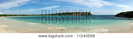 Circular bay near Cabo Rojo