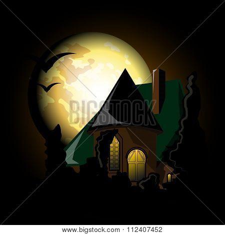 Castle In The Moonlight