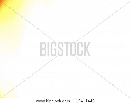 White Background with Orange Tinge