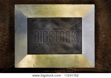 Modern Frame On Brass Photo Frame Silver