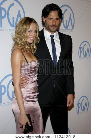 HOLLYWOOD, CALIFORNIA - January 22, 2010. Joe Manganiello at the 22nd Annual Producers Guild Awards held at the Beverly Hilton hotel, Los Angeles.