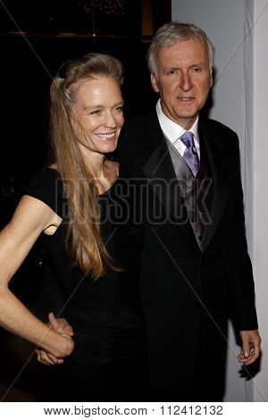 Suzy Amis Cameron and James Cameron at the 22nd Annual Producers Guild Awards held at the Beverly Hilton hotel in Beverly Hills, California, United States on January 22, 2010.