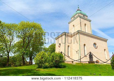 Suomenlinna Church Exterior, Helsinki, Finland